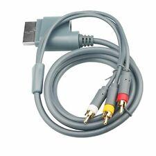 HD TV Premium RCA Composite AV A/V Cable Cord for Microsoft Xbox 360