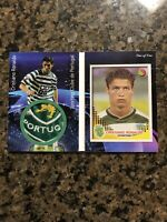 2002-2003 Cristiano Ronaldo RC Rookie Sticker Patch Card One of One Pop 1 🔥📈💎