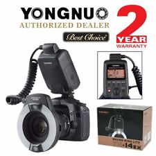 YONGNUO YN-14EX Speedlite TTL Macro Ring Flash Light for Canon 700D 650D 50D AU