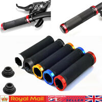 Double Lock On BMX MTB Bike Coloured Bicycle Scooter Handle bar Grips Cycle UK