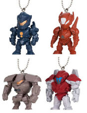 BANDAI Pacific Rim Uprising Swing Mascot Keychain Gashapon Figure set of 4