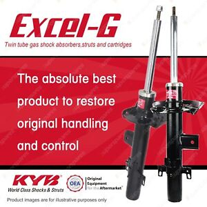 2 x Rear KYB EXCEL-G Strut Shock Absorbers for LAND ROVER Freelander II 4WD