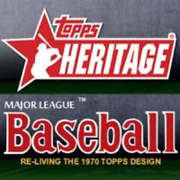 2019 TOPPS HERITAGE BASE CARD SET 400 CARDS #1-400