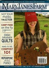 Mary Janes Farm Magazine 9-5 Inside Outside Issue 2011 June-July Vol. 10 #4