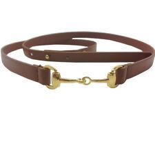 15mm foncé élégant pour filles et femmes fin brillant taille boucle ceinture