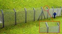 Ancorton 95722 OO Gauge Chainlink Fencing w Barbed Wire Kit