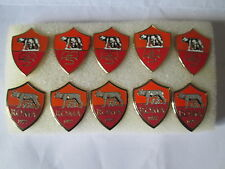 lotto 10 pins lot AS ROMA FC club spilla football calcio pins broches spille