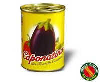 Caponata di melanzane Siciliana Latta da 140g