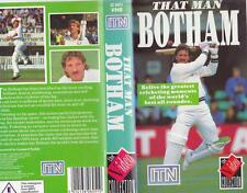 CRICKET THAT MAN BOTHAM   VHS VIDEO PAL A RARE FIND