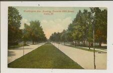 Illinois - Cairo - Washington Ave. - CCCC - Dvdbk - Mailed 1911 - 9306
