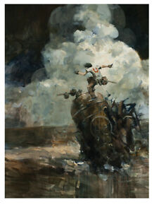 Sorrento Assault Print by Ashley Wood Mint RARE SOLD OUT There