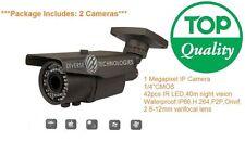 1MP Varifocal Lens HD IP CCTV Mega Pixel Onvif Security Camera 1mega pixel 720P