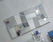 WALL MOUNTABLE PUZZLE SHAPED HANGING DECORATIVE MIRROR - POSH AND SPACIOUS HOME