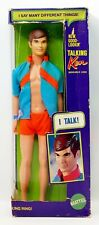 Vintage 1969 Barbie Mattel New Good Looking Talking Ken Doll No. 1111 NRFB