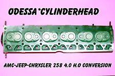 AMC JEEP CHRYSLER 258 4.0 H.O CONVERSION CYLINDER HEAD REBUILT NO CORE