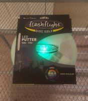 Nite Ize Flashflight LED Disc Golf Disco Putter Light-Up Frisbee Golf 169g-175g