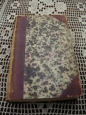 "1855 Blackwood Magazine July-Dec. 9 3/4"" x 5 3/4"" Book Sold in As/Is Condition"