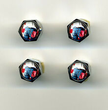 Bruce Springsteen Born in the Usa 4 Chrome Plated Brass Tire Valve Caps Bruce