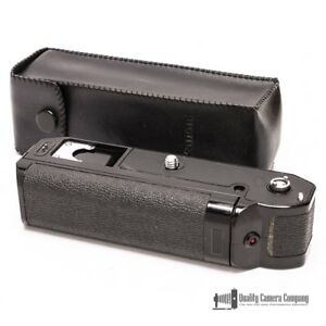 Canon Power Winder A with Original Leather Case
