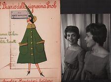 1 ed.! Foto autografata! Il Diario della signorina Snob. Franca Valeri. RM11