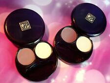 SWATCHED LOT × 2 Estee Lauder Color Intensity Eyeshadow Duo Dusk + Sand Dollar