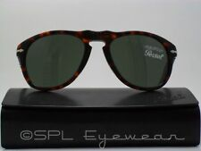 Persol Pilot Sunglasses PO 649 24/31 Havana Crystal Grey 52 MM Made in Italy