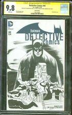 Batman Detective Comics 44 CGC SS 9.8 Issue 227 Nguyen Original art Top 1 sketch