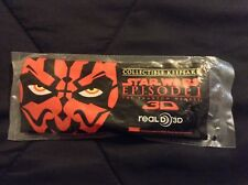 Star Wars Episode 1 3D Glasses Collectible Darth Maul Sealed Lucasfilm