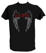 T shirt Lucifer Morningstar, Tee Shirt Lucifer Serie, Lucifer T shirt, Serie Tv