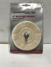 4 In. Buffing Wheel With 1/4 In Shank 28