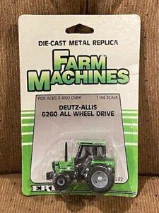 Vintage ERTL 1/64 Deutz-Allis 6260 tractor w/ all wheel drive (MFWD)