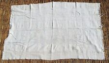 "African Bamana Bambara undyed mud cloth Textile from Mali 43"" x 65"""