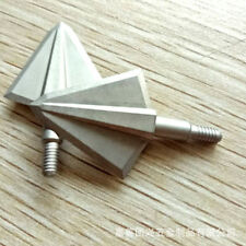 "6pk125 Grain Archery Arrow Broadheads 2 Blades Arrow Heads1.1"" OzCut Arrow Point"