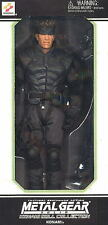 ACTION FIGURE METAL GEAR SOLID BAMBOLA 30 CM SOLID SNAKE SERIE DOLL KONAMI 1/6