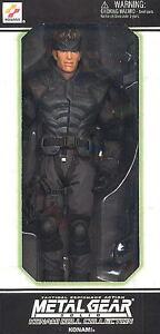 Action-Figur Metall Gear Solid Puppe 30 CM Solid Schlange Serie Doll Konami 1/6