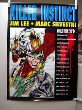 Jim Lee & Marc Silvestri: Killer Instinct World Tour '93-'94 Promo Poster (USA)