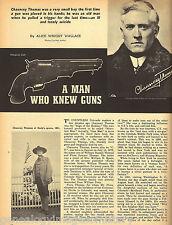Chauncey C. T. Thomas - A Man Who Knew Guns + Genealogy