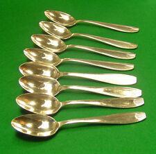 8 petites cuillers  APOLLO style Moderne mi XXe 14,6 cm cuillères à café