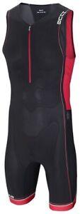 HUUB Core Mens Tri Suit Black UPF30 Padded Sleeveless Triathlon