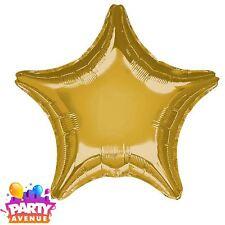 Metalique OR ETOILE BALLON plat Galaxy Anniversaire Décoration de fête