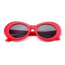 RED CLOUT GOGGLES GLASSES OVAL UNISEX SUNGLASSES RAPPER SUPREME CARTI MIGOS