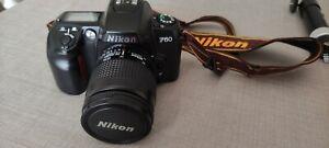 Fotocamera Nikon F60 + Obiettivo AF Nikkor 28/80 con autofocus Vintage