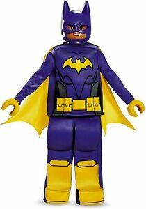 Disguise LEGO Batman Movie Batgirl Halloween Costume Size Medium (7-8)