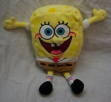 "TY 2013 SOFT SPONGEBOB SQUAREPANTS 8"" Bean Bag Stuffed Animal Toy"
