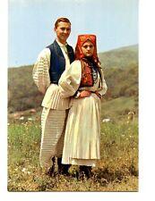 Traditional National Folk Costumes-Pisarovina-Croatia-Yugoslavia-Modern Postcard