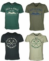 Mens Jack & Jones TShirt Short Sleeve Designer Branded Casual Summer Tee Tops