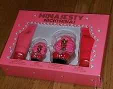 Minajesty Nicki Minaj Fragrance Set 4 Piece Gift Perfum *Value $120.00* Womens
