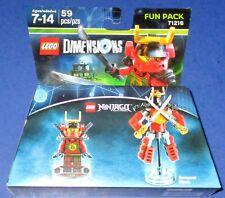 71216 Lego Dimensions Fun Pack Ninjago Nya Samurai Mech
