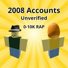 *RARE* RANDOM ROBLOX 2008 ACCOUNTS UNVERIFIED (READ DESCRIPTION)