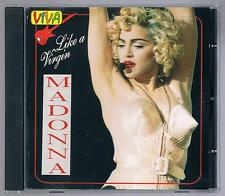 MADONNA LIKE A VIRGIN  CD F.C.  TIMBRO A SECCO